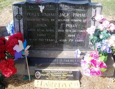 Picture of Taruheru cemetery, block 28, plot 57.