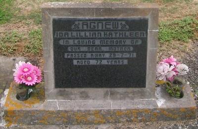 Picture of Taruheru cemetery, block 29, plot 166.