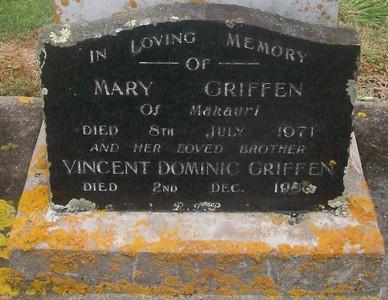 Picture of Taruheru cemetery, block 29, plot 176.
