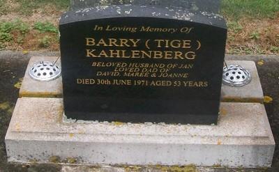 Picture of Taruheru cemetery, block 29, plot 177.