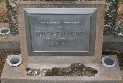 Picture of Taruheru cemetery, block 29, plot 185.