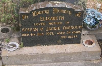 Picture of Taruheru cemetery, block 29, plot 186.