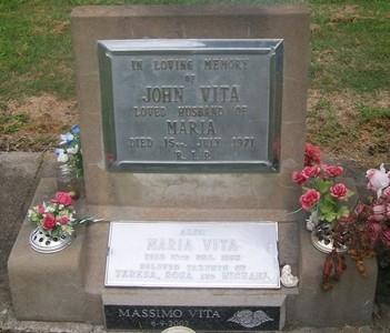 Picture of Taruheru cemetery, block 29, plot 189.