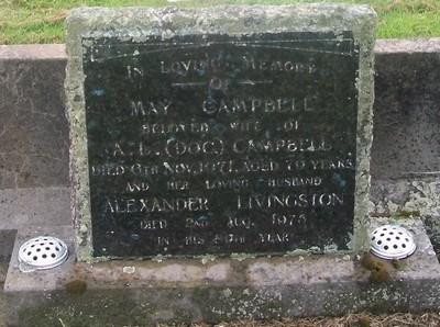 Picture of Taruheru cemetery, block 29, plot 199.