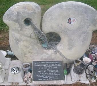 Picture of Taruheru cemetery, block 29, plot 237.