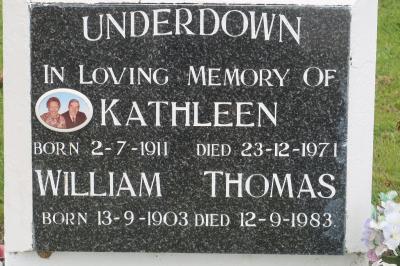 Picture of Taruheru cemetery, block 29, plot 287.