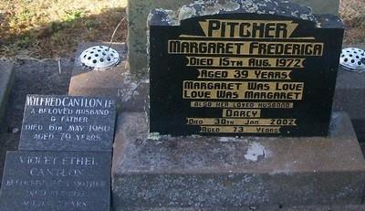 Picture of Taruheru cemetery, block 29, plot 391.
