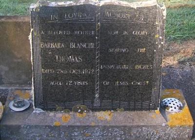 Picture of Taruheru cemetery, block 29, plot 393.