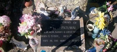 Picture of Taruheru cemetery, block 29, plot 434.