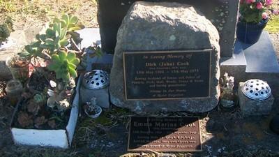 Picture of Taruheru cemetery, block 29, plot 478.