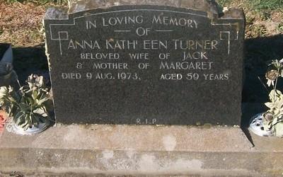 Picture of Taruheru cemetery, block 29, plot 512.