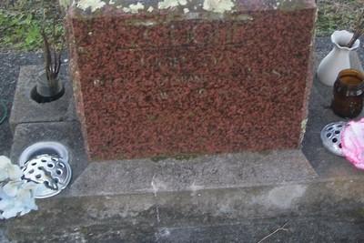 Picture of Taruheru cemetery, block 29, plot 518.
