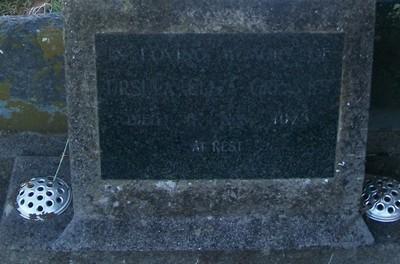 Picture of Taruheru cemetery, block 29, plot 537.