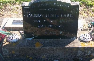Picture of Taruheru cemetery, block 29, plot 554.