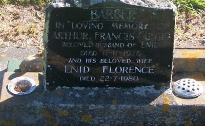 Picture of Taruheru cemetery, block 29, plot 556.