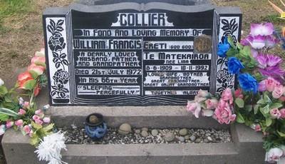 Picture of Taruheru cemetery, block 29, plot 78.