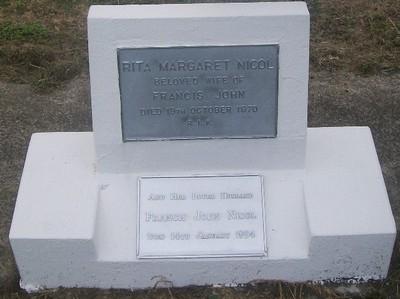 Picture of Taruheru cemetery, block 29, plot 81.