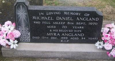 Picture of Taruheru cemetery, block 29, plot 84.