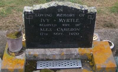Picture of Taruheru cemetery, block 29, plot 88.