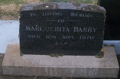 Picture of Taruheru cemetery, block 29, plot 93.