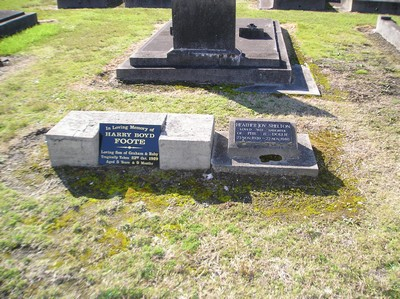 Picture of Taruheru cemetery, block 2, plot 56.