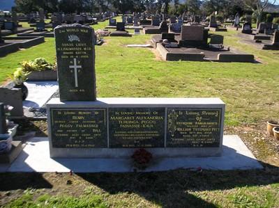 Picture of Taruheru cemetery, block 2, plot 68C.