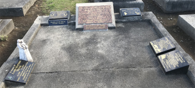 Picture of Taruheru cemetery, block 2, plot 8.