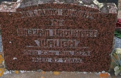 Picture of Taruheru cemetery, block 30, plot 105.