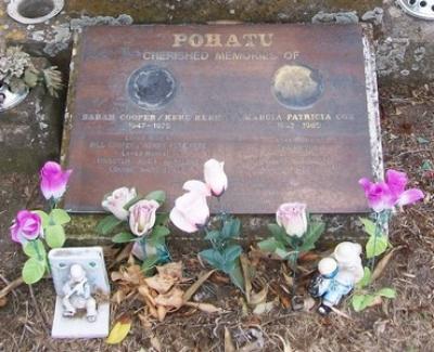 Picture of Taruheru cemetery, block 30, plot 155.