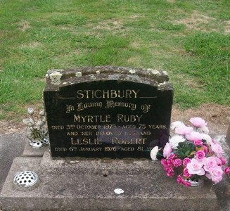 Picture of Taruheru cemetery, block 30, plot 27.