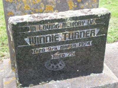 Picture of Taruheru cemetery, block 30, plot 30.