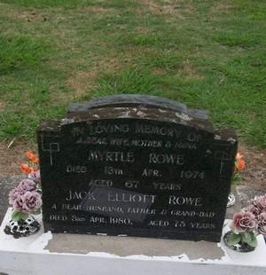 Picture of Taruheru cemetery, block 30, plot 35.
