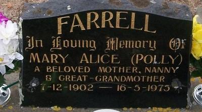 Picture of Taruheru cemetery, block 30, plot 66.