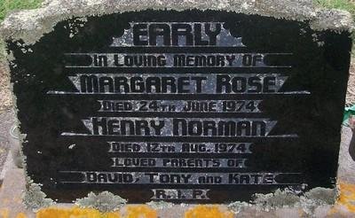 Picture of Taruheru cemetery, block 30, plot 89.