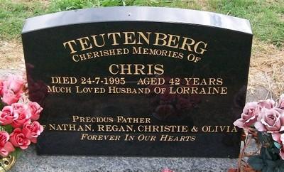 Picture of Taruheru cemetery, block 35, plot 282.