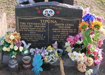 Picture of Taruheru cemetery, block 37, plot 152.