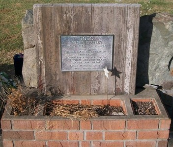Picture of Taruheru cemetery, block 37, plot 178.