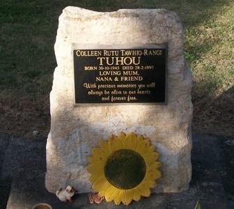 Picture of Taruheru cemetery, block 37, plot 195.