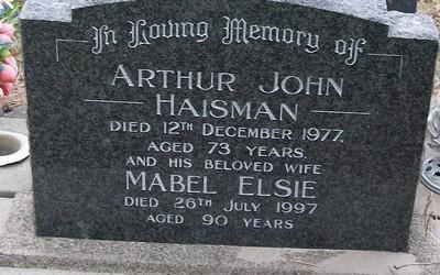 Picture of Taruheru cemetery, block 38, plot 450.