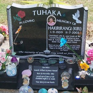 Picture of Taruheru cemetery, block 39, plot 160.