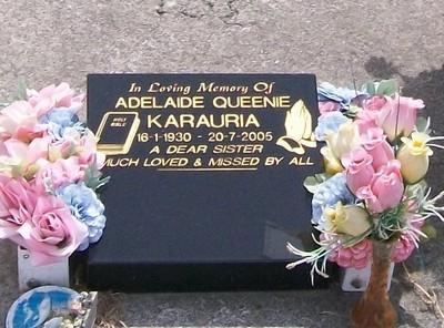 Picture of Taruheru cemetery, block 39, plot 294.