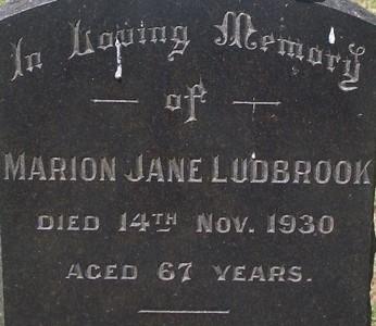Picture of Taruheru cemetery, block 3, plot 26.