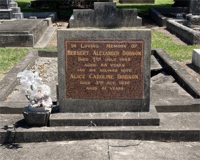 Picture of Taruheru cemetery, block 3, plot 57.
