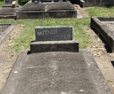 Picture of Taruheru cemetery, block 3, plot 58.