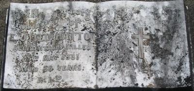Picture of Taruheru cemetery, block 3, plot 70.