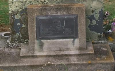 Picture of Taruheru cemetery, block 40, plot 120.