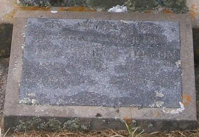Picture of Taruheru cemetery, block 40, plot 138.