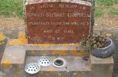 Picture of Taruheru cemetery, block 40, plot 159.