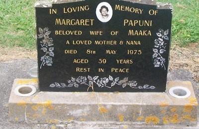 Picture of Taruheru cemetery, block 40, plot 167.