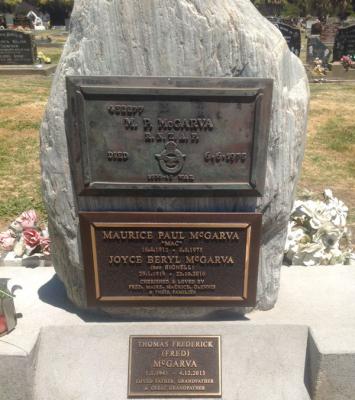 Picture of Taruheru cemetery, block 40, plot 172.